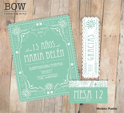 tarjetas on pinterest 15 anos wedding invitations and invitations tarjeta 15 a 241 os mint is in www bowpaperie com tarjetas