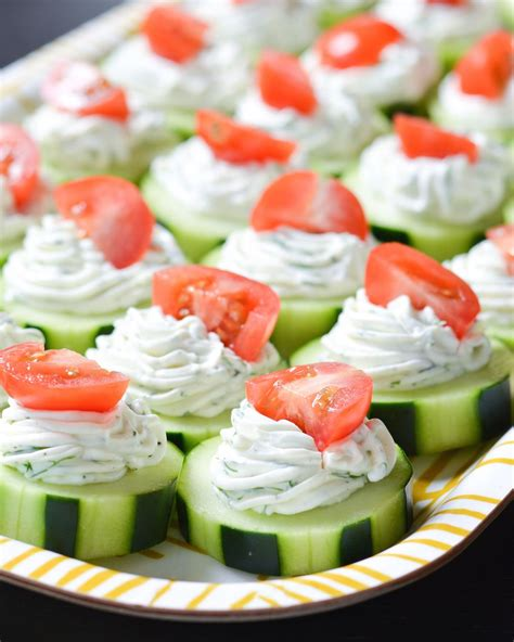 appetizers healthy these fresh dilly cucumber bites make a great healthy