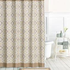 matching shower curtain and towels landon leaf bath accessories i got the shower curtain