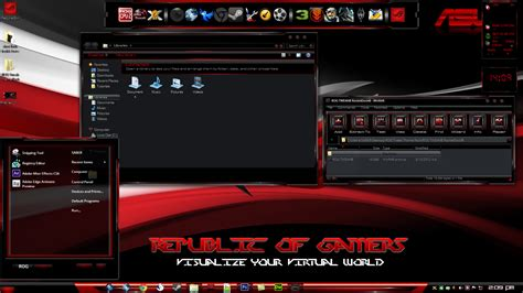 download themes windows 7 rog rog tweak theme clash of the titans 6 limited by