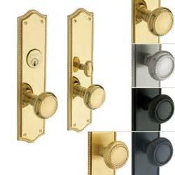 distinctive exterior interior door hardware knob lever