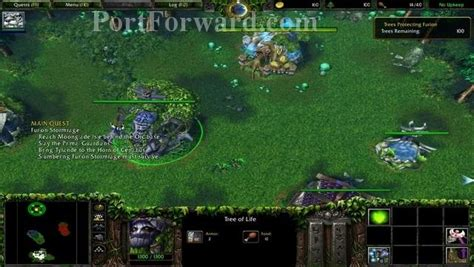 how to upgrade wc3 warcraft 3 reign of chaos walkthrough night elf 3 the