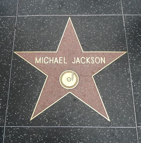 Where is Michael Jackson's star on the Hollywood Walk Of ... Hollywood Walk Of Fame Stars Michael Jackson
