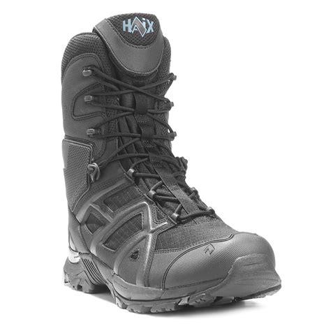 haix boots haix 8 quot black eagle 11 side zip boot