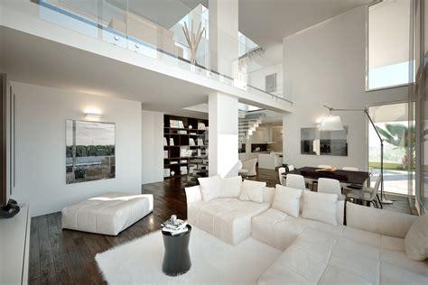Ville Moderne Con Piscina by Villa Moderna Con Piscina