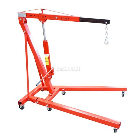 New Kitchen Cabinet Cost new red 2 ton tonne hydraulic folding engine crane stand