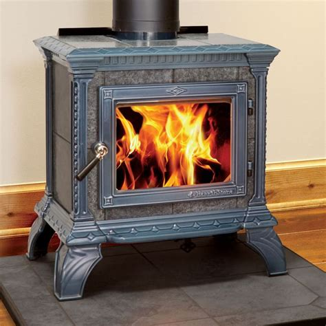 soapstone fireplace inserts tribute 8040 wood stove with with seafoam majolica enamel