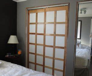 Diy Shoji Screen Closet Doors Diy Shoji Screen Style Closet Doors Diy Pinterest