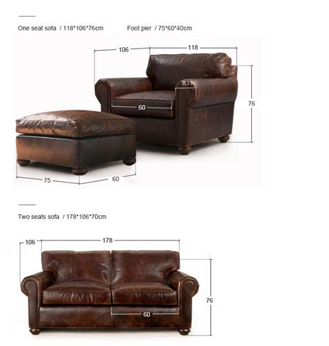 leather sofa oil luxury antique genuine oil wax leather classical european