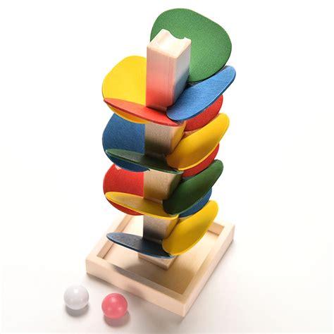 Mainan Edukasi Anak Dorongan Bayi mainan edukasi anak marble run multi color