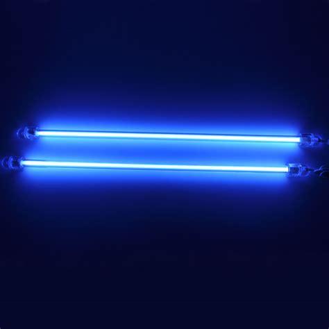 Neon Lights by 2pcs 6 Quot Blue Ccfl Car Auto Interior Exterior Neon Lights