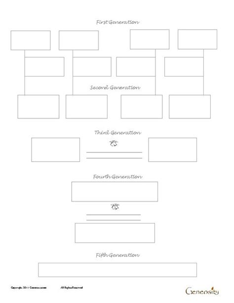 Printable Family Tree Forms | family tree template family tree forms to print