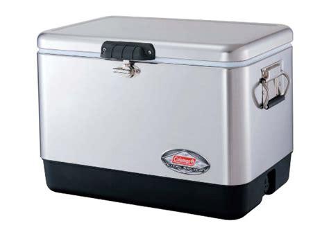 coleman 54 quart steel cooler coleman 54 quart steel belted cooler cool material