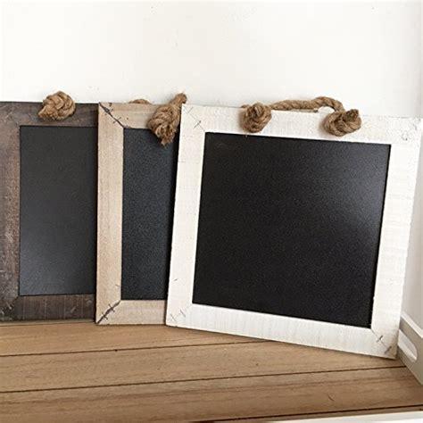 kreidetafel vierkant 3 farben shabby holzdeko wandbild - Durchschnittliche Größe Küche