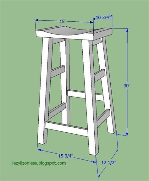 diy wooden bar stool plans woodworking projects plans