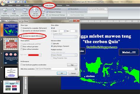 cara membuat power point 2007 bagi pemula teknologi dan komputer cara membuat game di ms power