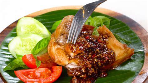 resep ayam gepuk pedas masak  hari