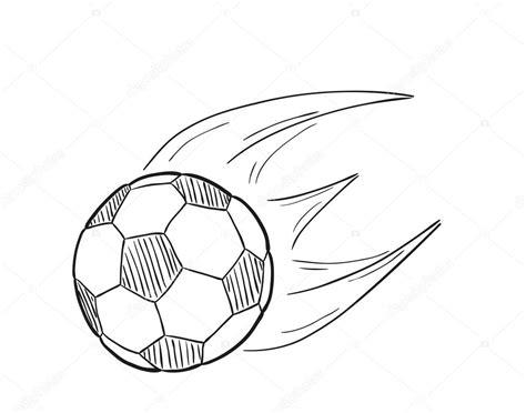 imagenes a lapiz de futbol bosquejo de la pelota de f 250 tbol volador con llamas