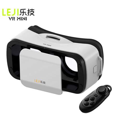 Vr Mini Leji Mini Vr 3d Glasses Remote White
