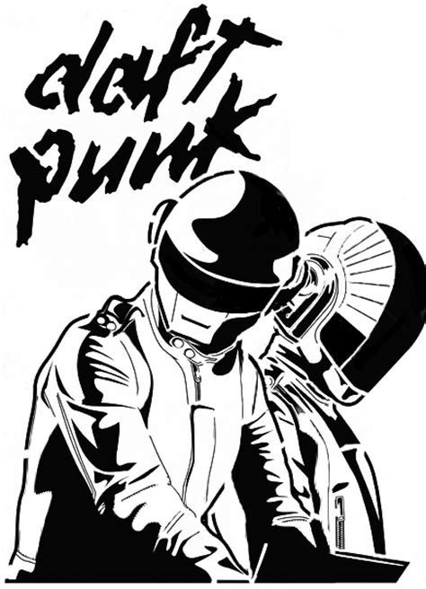 Daft Punk Clipart & Look At Clip Art Images - ClipartLook
