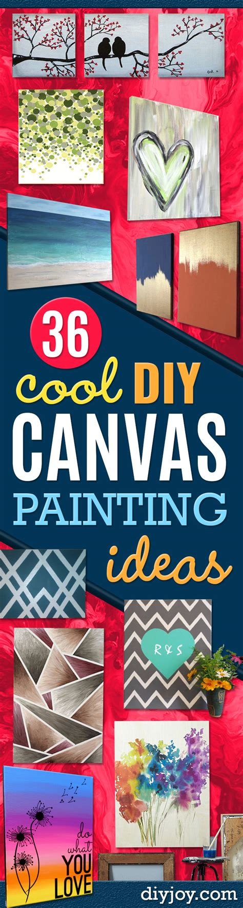 cool painting ideas on canvas 36 diy canvas painting ideas page 2 of 8 diy