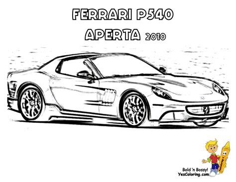 free ferrari coloring pages book for kids boys com cars ferrari colouring pages
