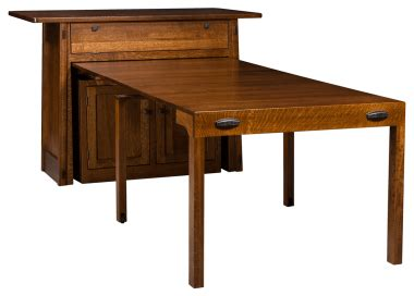 pull out dining room table pull out tables countryside amish furniture