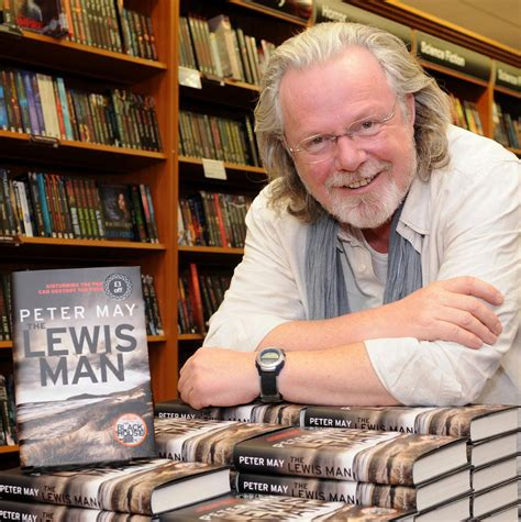 peter may author the thoughts and views of novelist the lewis trilogy by peter may scottish author