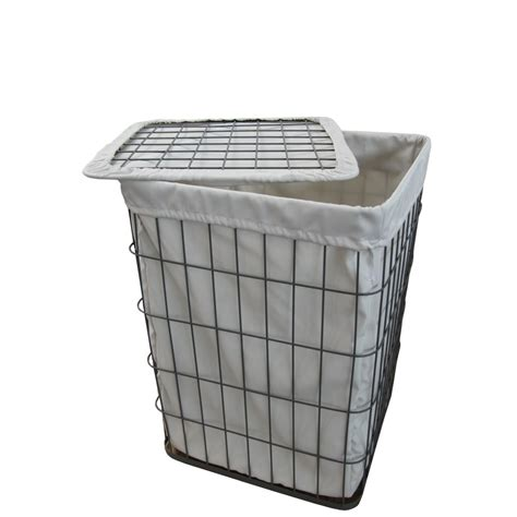 metal laundry buy grey wire metal frame laundry basket from the basket company