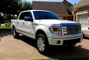 2013 f150 ecoboost platinum with rancho quicklift leveling