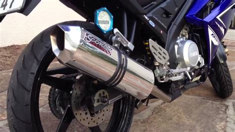 Muffler Termignoni For Yamaha Xabre Or R15 yamaha r15 scorch performance exhaust pipe