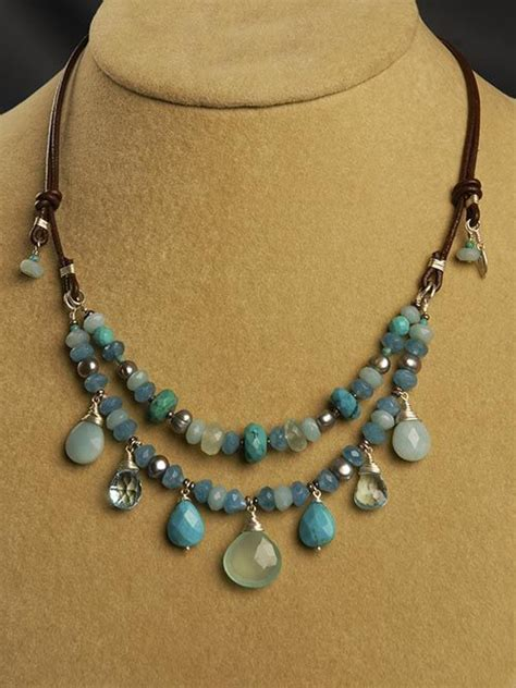 How To Make Handmade Necklaces - 17 best images about handmade necklaces on