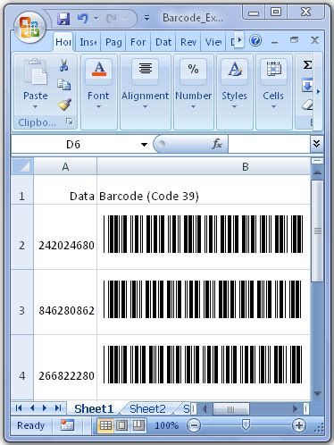 How To Do Table Of Contents In Word Using The Barcode Font With Microsoft Office Word