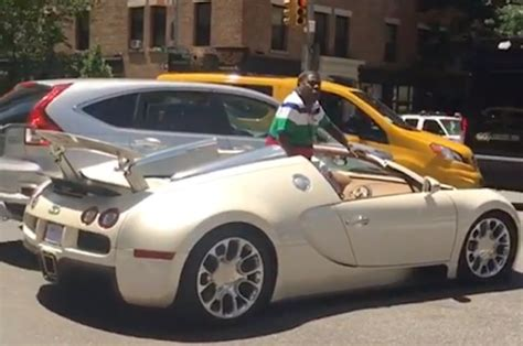 tracy morgan     million bugatti sports car