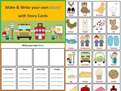 write your own tale template pin by allison speech on language therapy