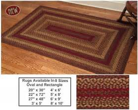 Braided rug country kitchen braided jute oval rugs ihf 27x48