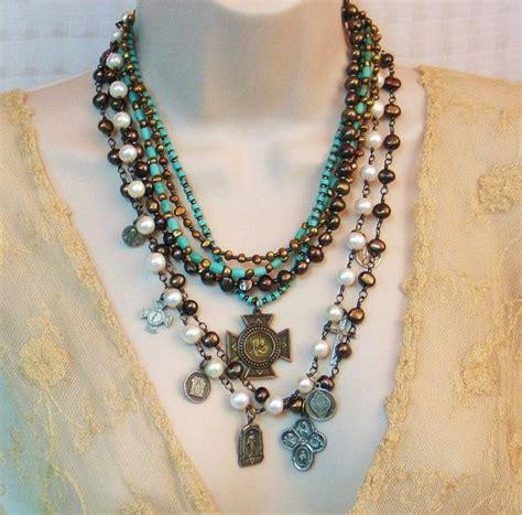 religious jewelry vintage catholic medals