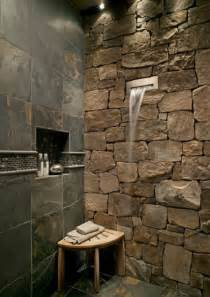 waterfall shower designs shower with stone and waterfall spout favething com