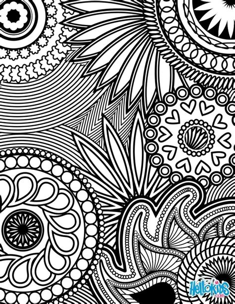grown up coloring pages of flowers free coloriage antistress coloring pages