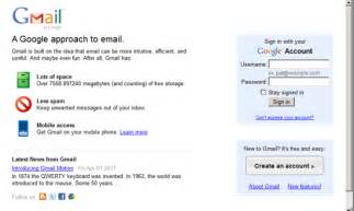 gmail email login home page image gallery homepage mail login