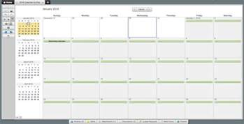 Create Calendar Template by Make A 2017 Calendar In Excel Includes Free Template