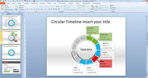 how to create your own powerpoint template 2010 free circular timeline powerpoint template