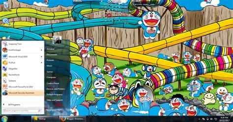 themes doraemon for windows 7 gratis download tema doraemon untuk windows 7 ari art