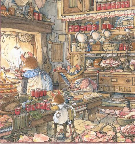 winter story brambly hedge books childhood inspiration my quot sous vide quot