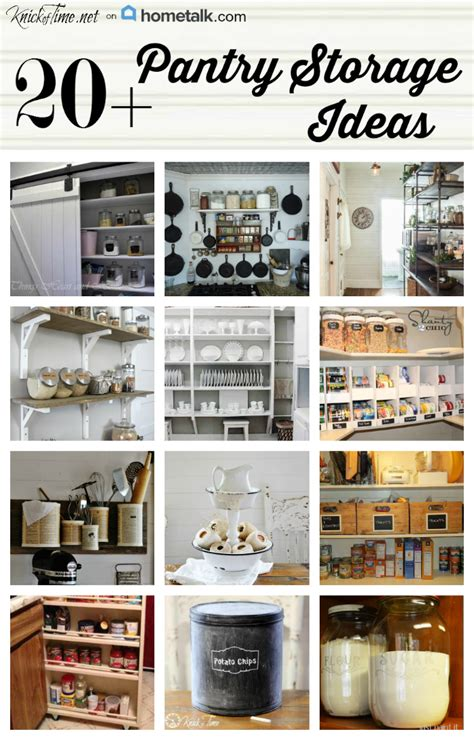 diy kitchen pantry ideas 17 pantry storage ideas via knickoftime net