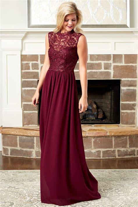 Aline Maxy Maroon 25 best ideas about burgundy maxi dress on