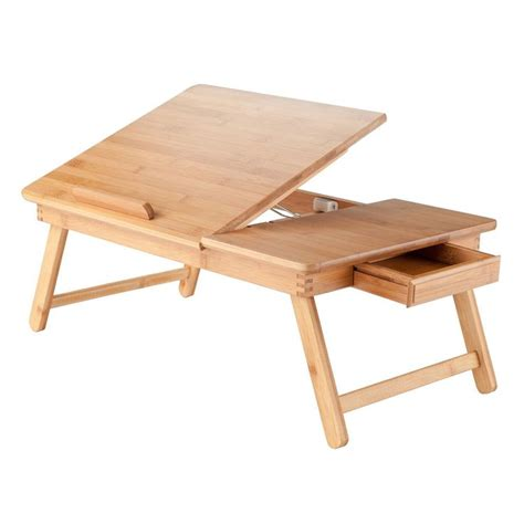 lap desk for bed portable lap desk tray table stand wood adjustable