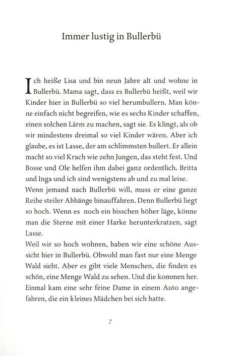 printed book fonts kinderbuch quot immer lustig in bullerb 252 quot oetinger verlag