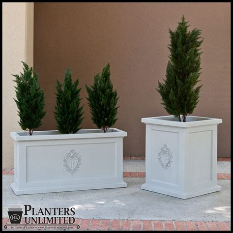 Personalized Planters by Custom Logo Planter Project Gallery