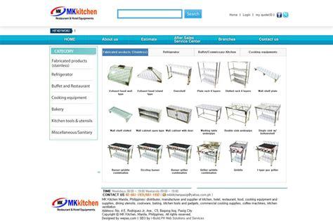 Commercial Kitchen Equipment Design by Mk Kitchen Manila Philippines Restaurant And Hotel